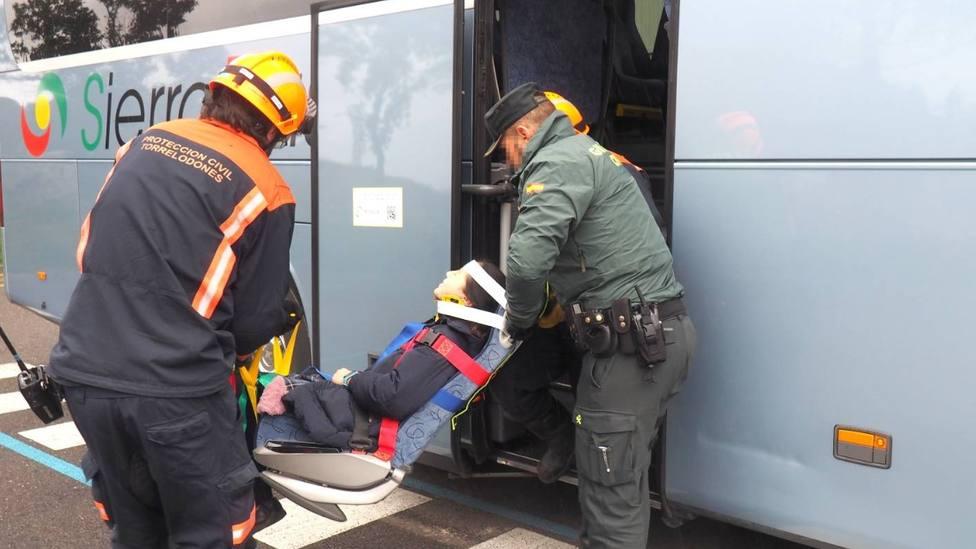 El simulacro sirvió para probar el sistema E-Rescue