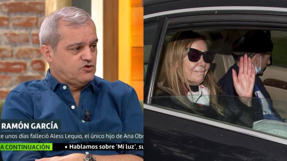 La confesión de Ramón García tras su dura llamada con Ana Obregón tras la muerte de su hijo Aless