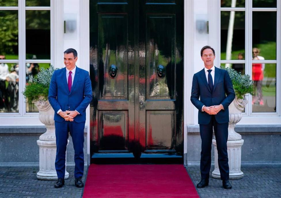 El primer ministro de los Países Bajo, Mark Rutte, ha recibido en La Haya al presidente del Gobierno de España