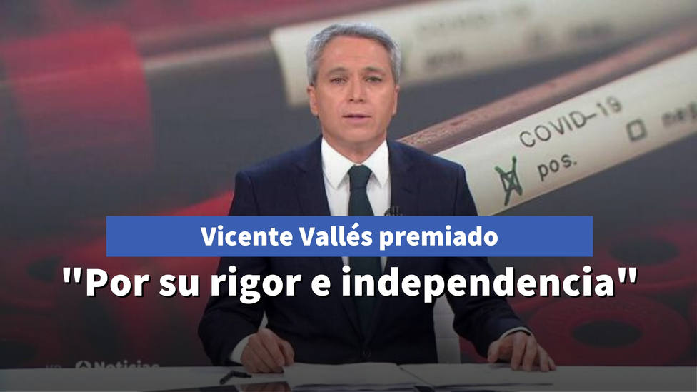 Vicente Vallés, galardonado por la Asociación de Periodistas Europeos: Es lo incómodo que puede resultar