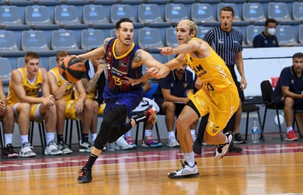 UCAM Murcia CB mejora pese a la derrota ante el FC Barcelona