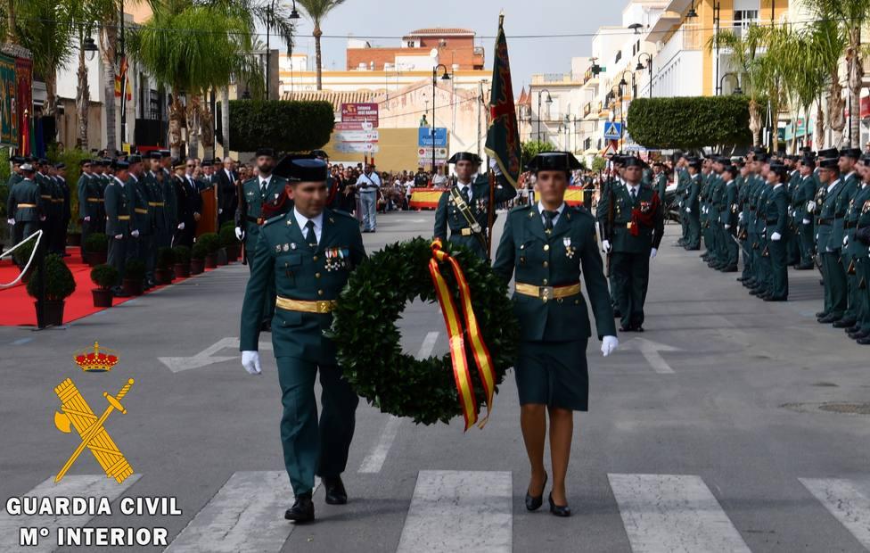 ¿Cómo celebrará la Guardia Civil de Almería el 12 de octubre?