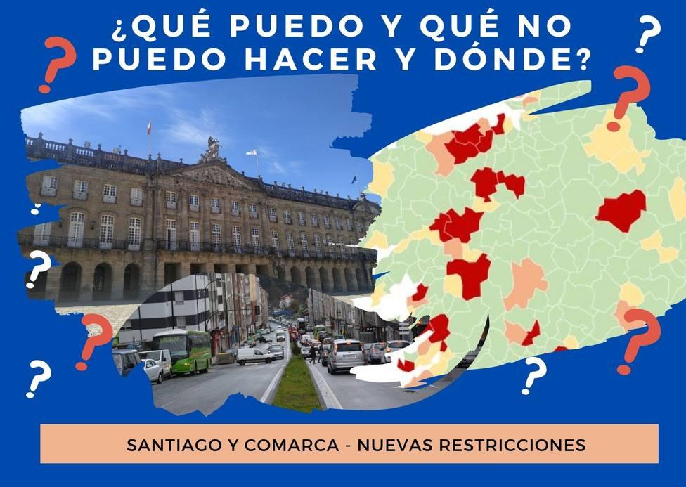 ¿Qué puedo y qué no puedo hacer en Santiago y comarca?