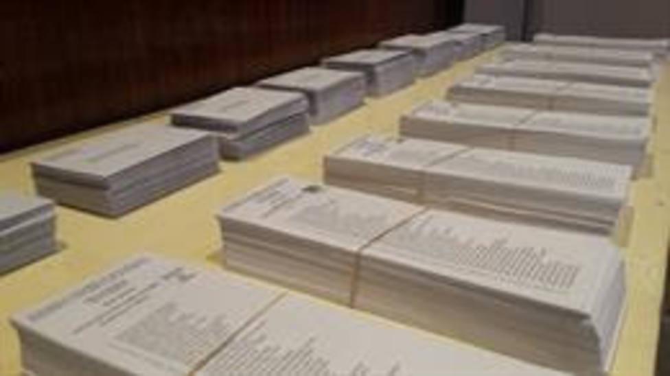 Papeletas para las elecciones al Parlament del 21D en Catalunya - EUROPA PRESS - Archivo