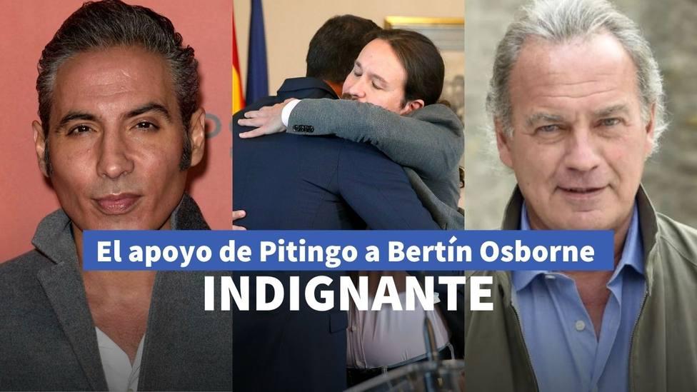 Pitingo y Bertín Osborne