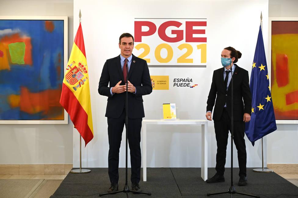 """Sánchez piensa """"reordenar"""" con Iglesias la estrategia del Gobierno"""