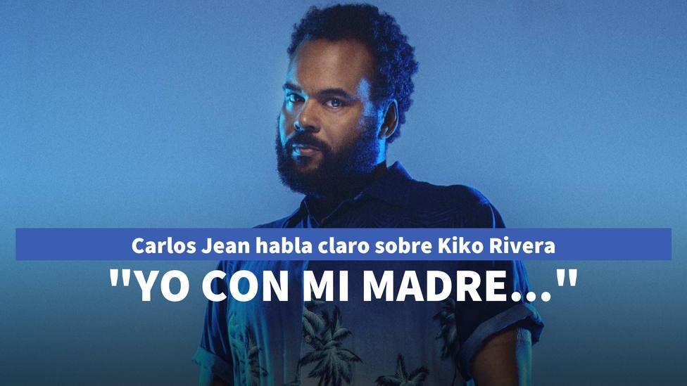 Carlos Jean se salta el guión en Sálvame y habla claro sobre Kiko Rivera: Yo con mi madre...