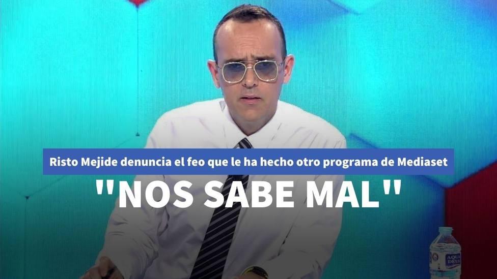 """Risto Mejide denuncia el feo que le ha hecho otro programa de Mediaset: """"Nos sabe mal"""