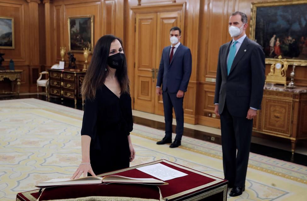 Jura o promesa ante el rey de los nuevos miembros del Gobierno