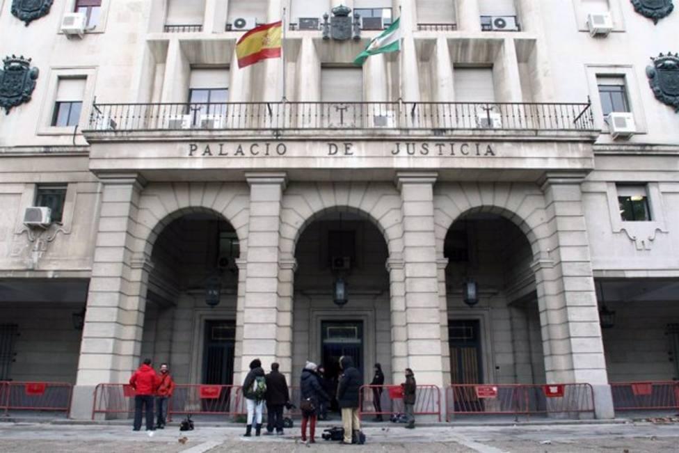 Los juzgados de Sevilla antes del inicio del juicio a El Cuco