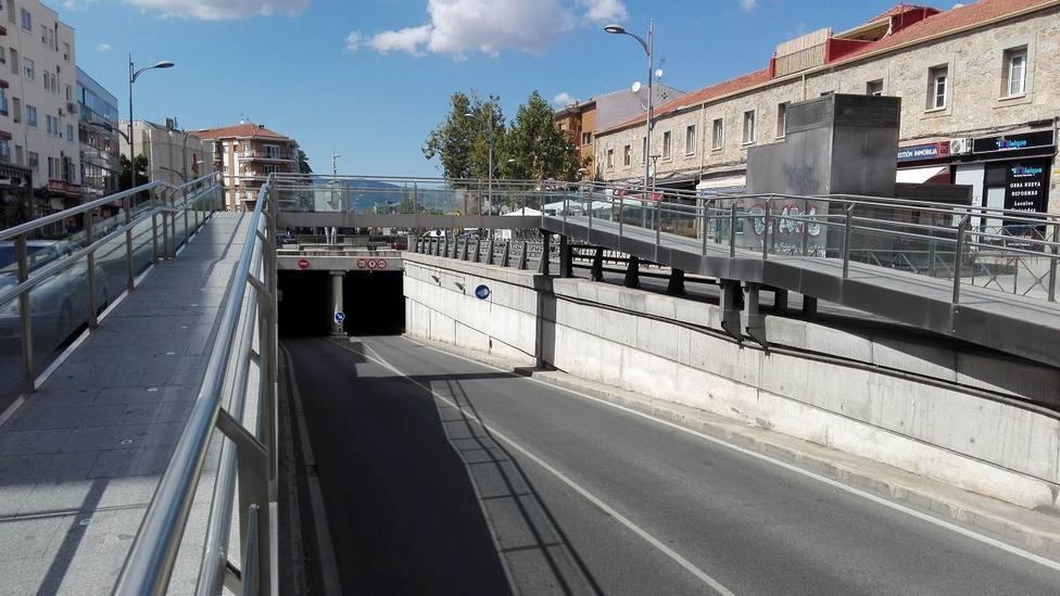 Túnel de Honorio Lozano, Collado Villalba