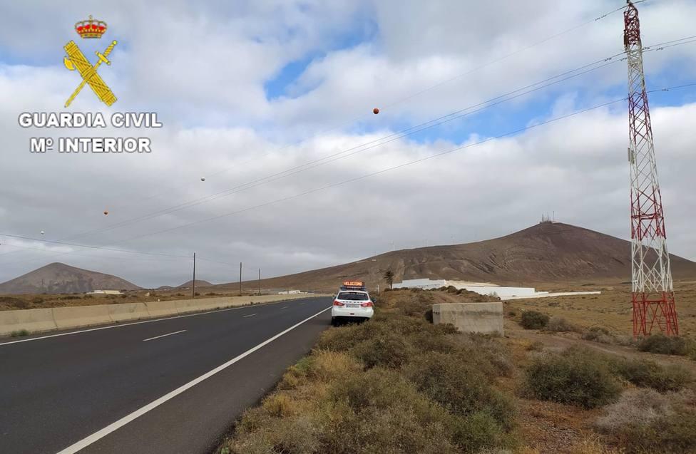 Condena de dos años de cárcel por conducir una moto a 235 km/h en una vía de 100 km/h