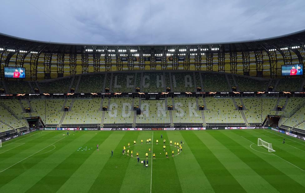 Villarreal CF training