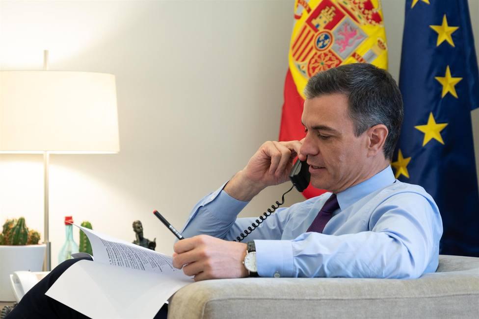 Pedro Sánchez, Presidente del gobierno central