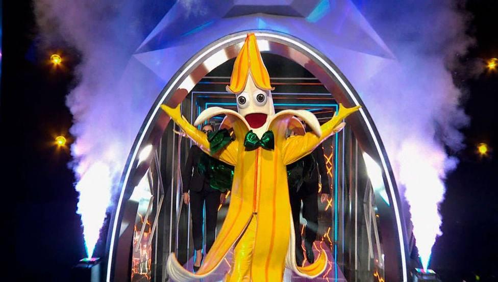 Desvelan la posible identidad de Plátano de Mask Singer