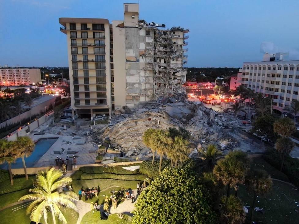 Estados Unidos aprueba la declaración de emergencia por el derrumbe del edificio de Miami