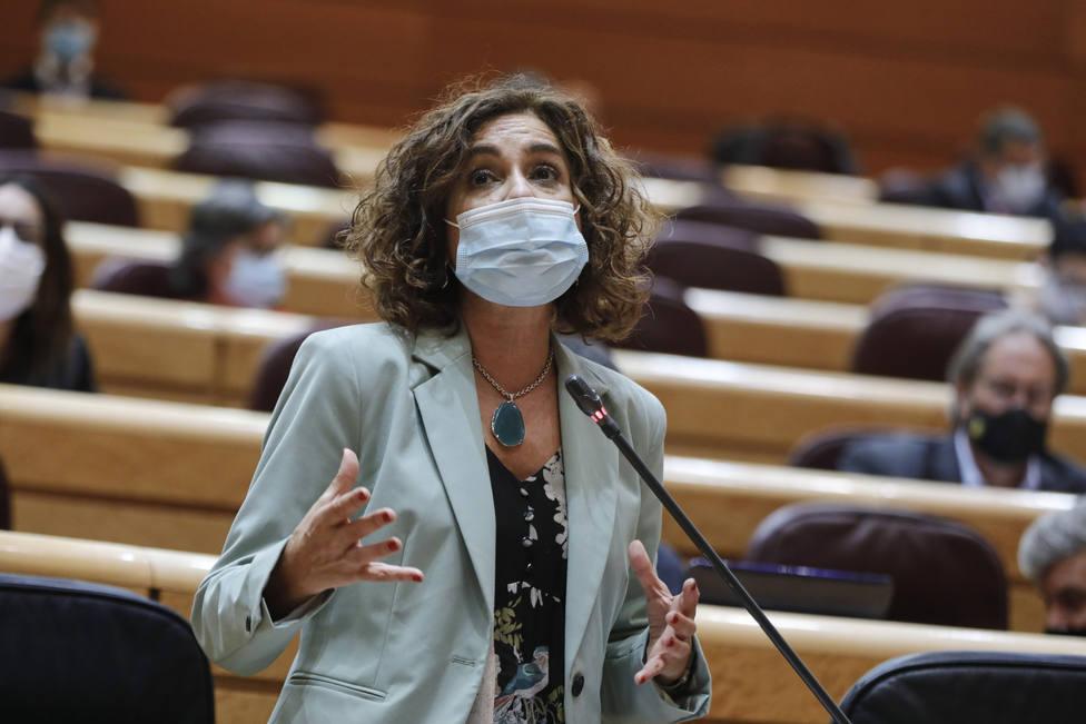 María Jesús Montero confía en que se unan ERC y JxCAT