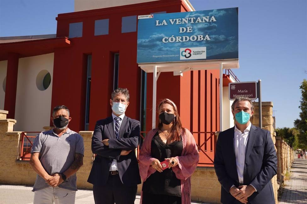 Fepamic y la Fundación Cajasur inauguran La ventana de Córdoba