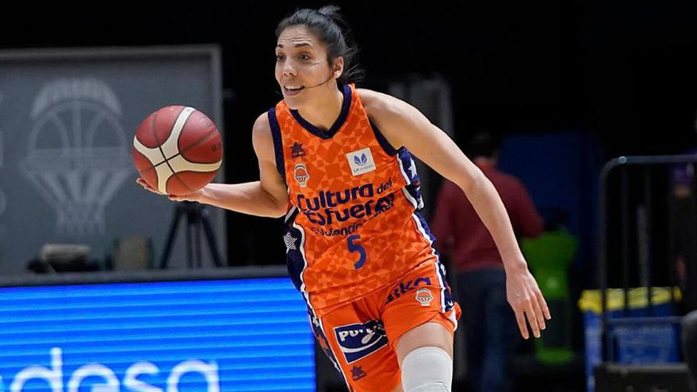 Cristina Ouviña ha vuelto a ser clave