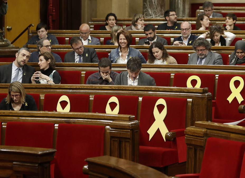 Pleno del Parlament de Cataluña