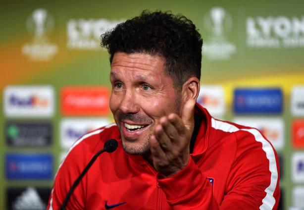 Rueda de prensa Simeone final Europa League