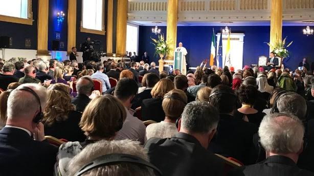 Discurso del papa a su llegada a Dublín
