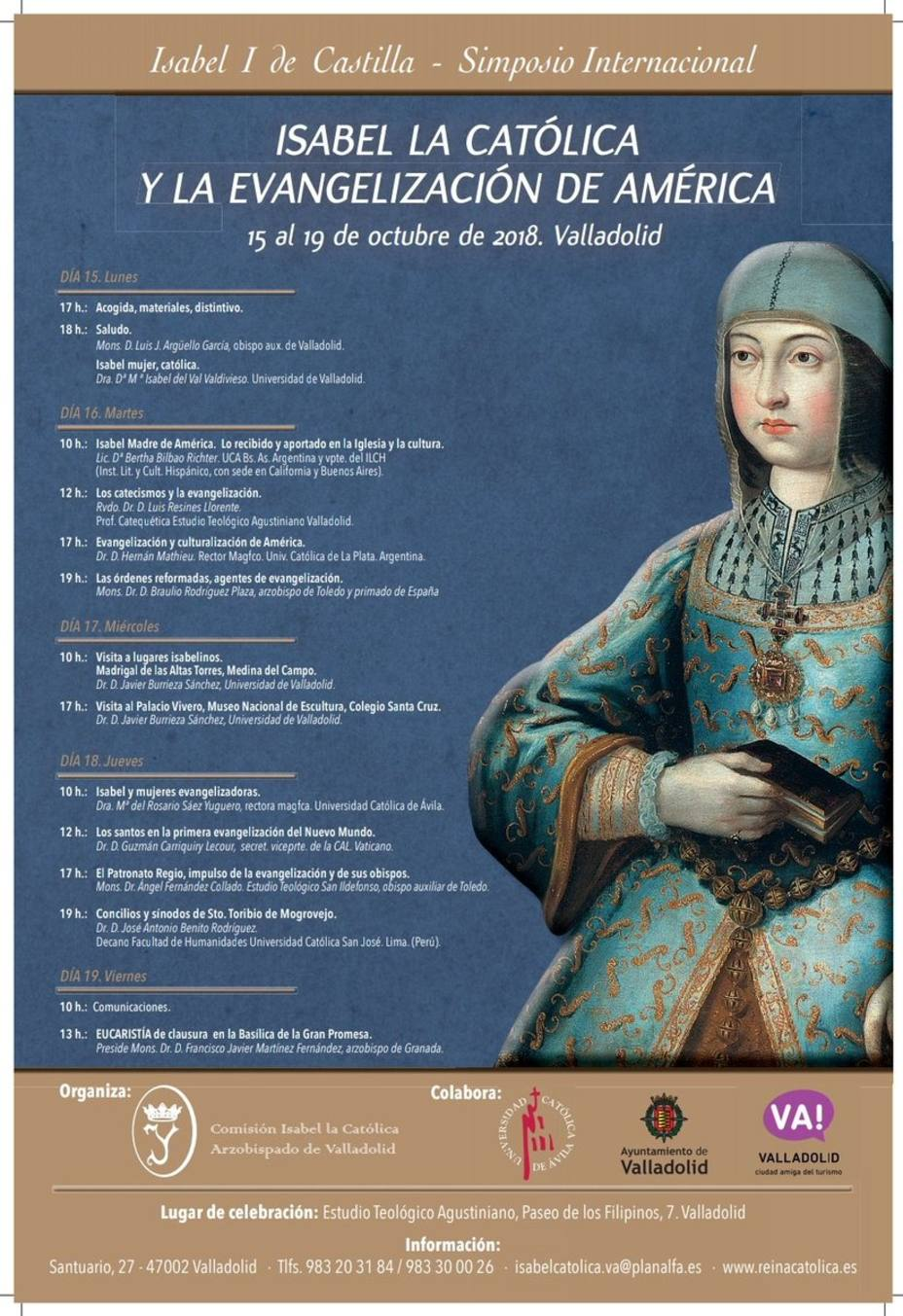 Comienza el simposio internacional Isabel la Católica y la Evangelización de América