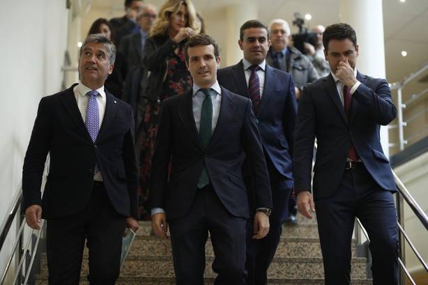 Casado evita comentar las grabaciones de Villarejo en las que se cita a Rajoy: No puedo certificar que son ciertas