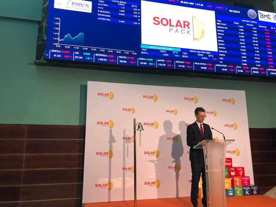 Solarpack invertirá 300 millones en el desarrollo de su cartera de proyectos en 2019