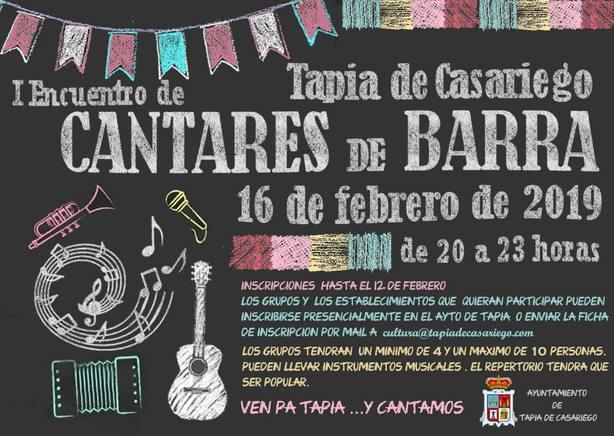 Cantares de Barra