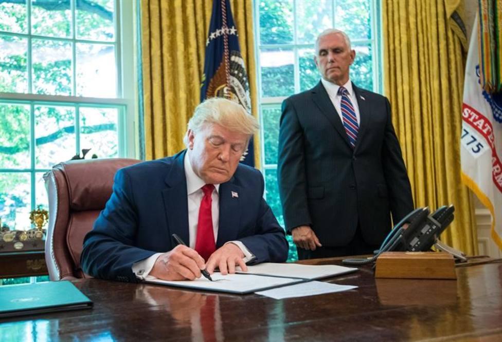 Trump eleva la tensión y asegura no necesitar el visto bueno del Congreso para atacar Irán