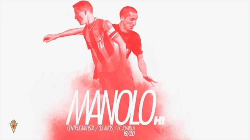 Manolo llega para aportar experiencia al Real Murcia