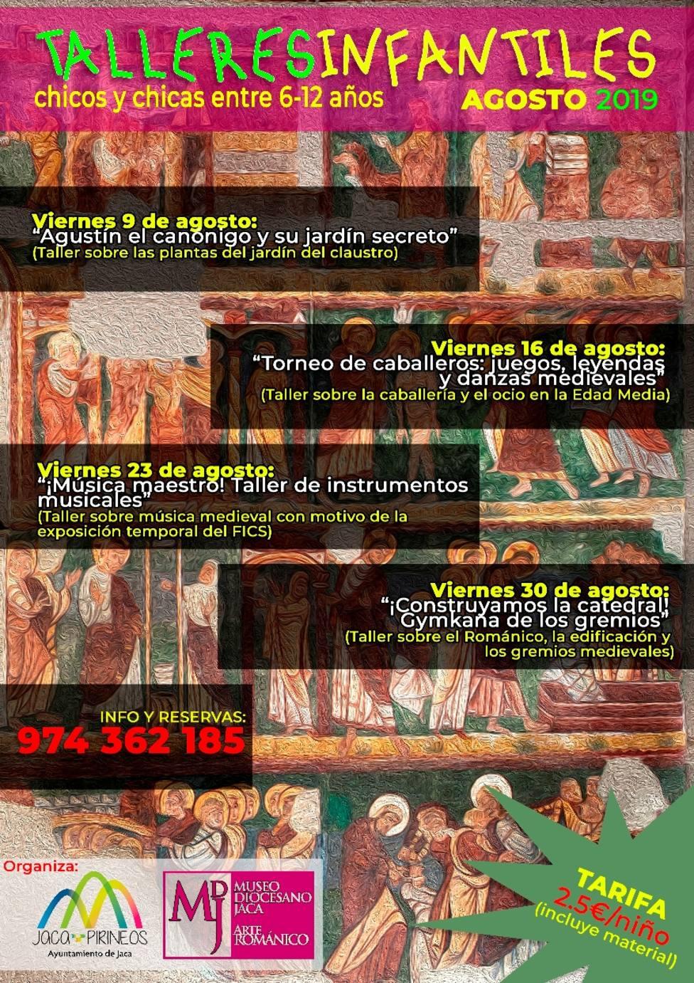 Talleres para niños en el Museo Diocesano de Jaca