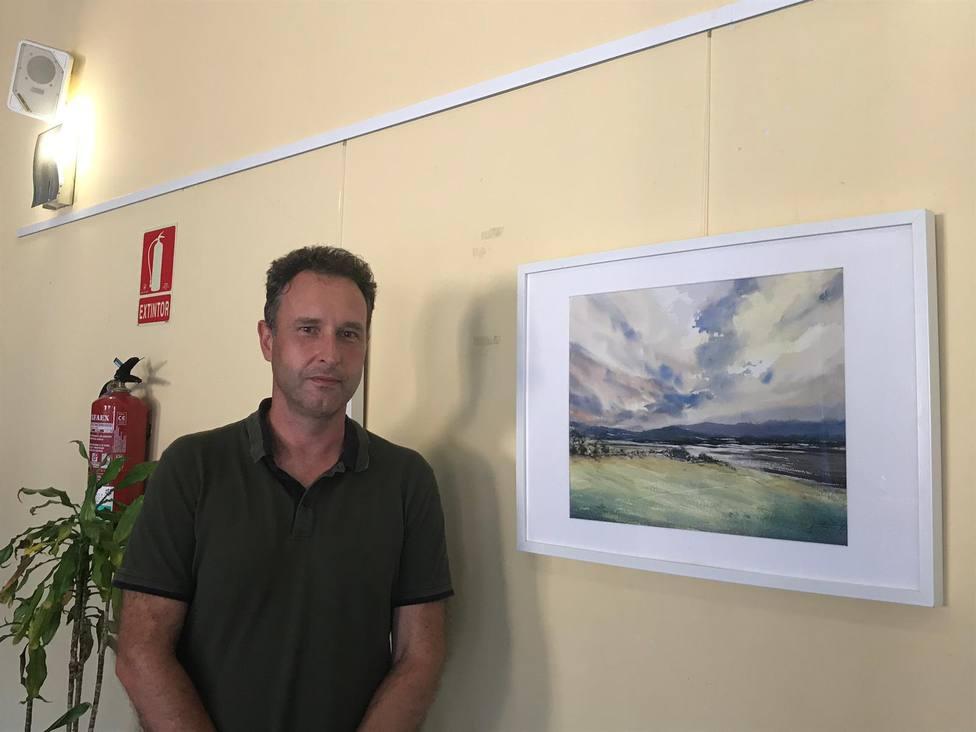 El artista Juan Ramón Alves