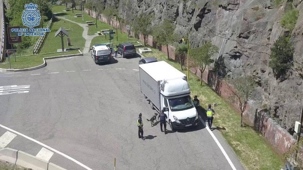 La Policía Nacional refuerza la seguridad en Huesca por la cumbre del G-7 que se celebrará en Biarritz