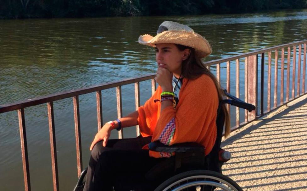 Rocío, la joven que quedó parapléjica y que convirtió a su compañera de habitación en el hospital
