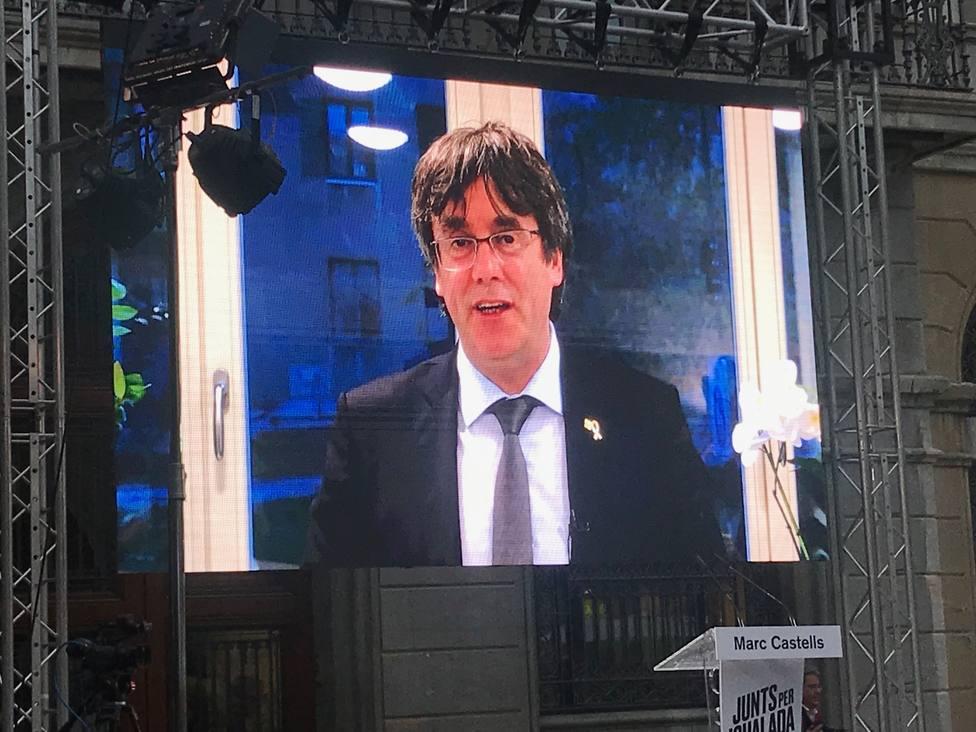 Puigdemont: Ya lo estamos volviendo a hacer