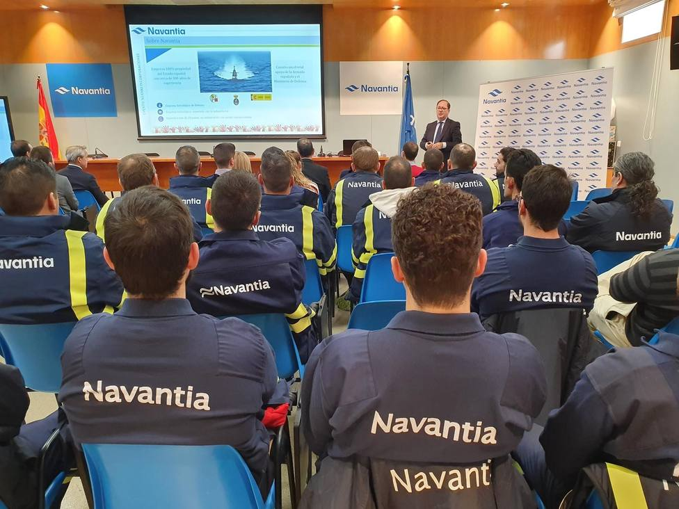 Navantia incorpora 50 nuevos trabajadores al astillero de Cartagena