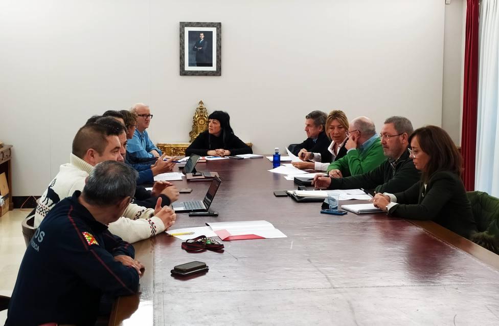 Resunión de la comisión de seguridadad