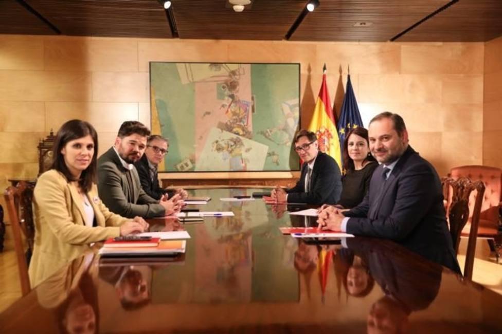 PSOE y ERC admiten avances sobre cómo encauzar el conflicto político y se verán de nuevo el 10 de diciembre