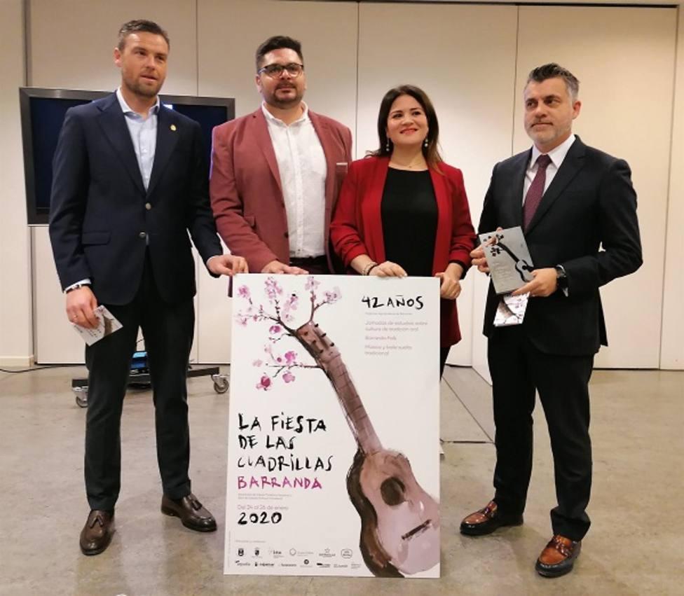 La Fiesta de las Cuadrillas de Barranda reunirá este año a nueve grupos de la Región y a dos de Albacete