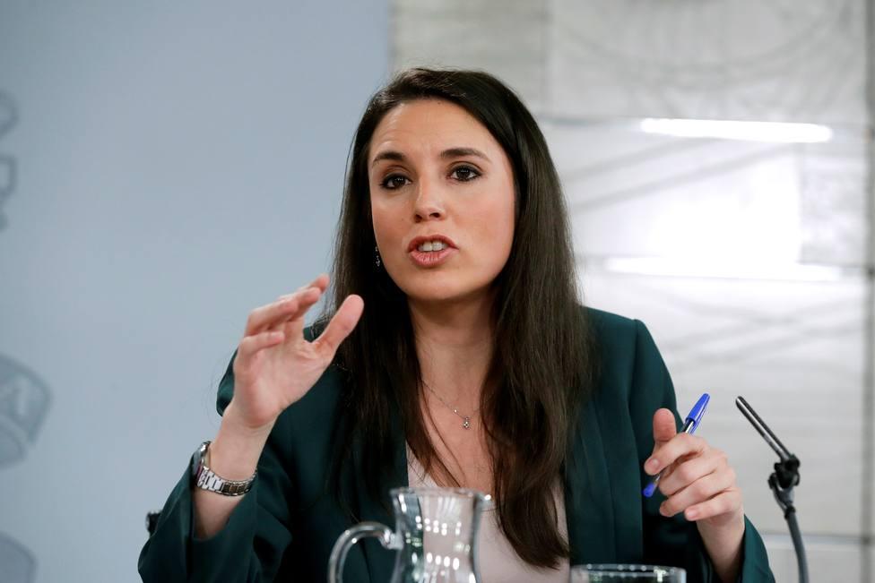 """Irene Montero advierte que la única salida económica a la crisis es """"con perspectiva de género"""""""