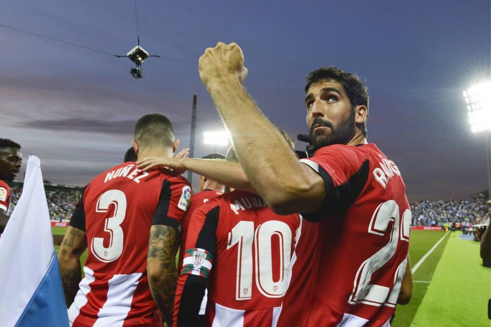 Spanish La Liga soccer mach Leganes vs Athletic Bilbao