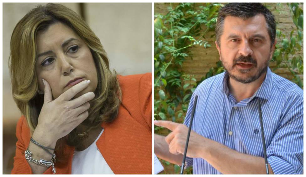 Un diputado del PP deja en evidencia Susana Díaz tras atacar a la Junta por sus últimas ofertas de empleo