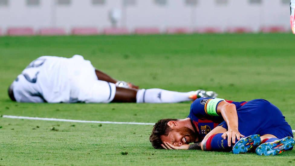 Messi no se entrena por precaución pero jugará el viernes ante el Bayern
