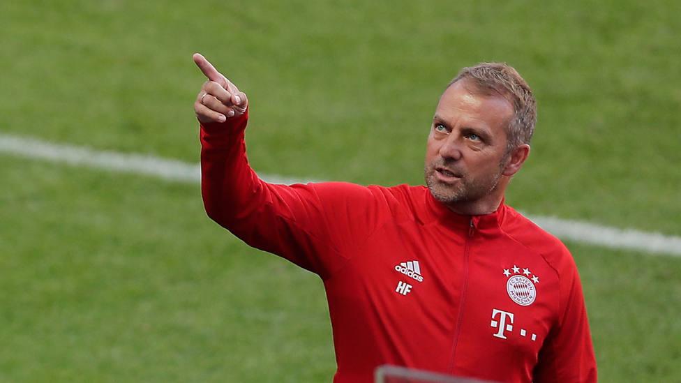 Hansi Flick, entrenador del Bayern de Munich. CORDONPRESS
