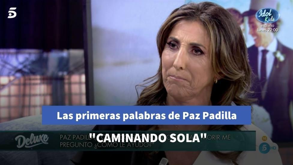Las primeras palabras de Paz Padilla en redes sociales tras su entrevista en Sálvame Deluxe