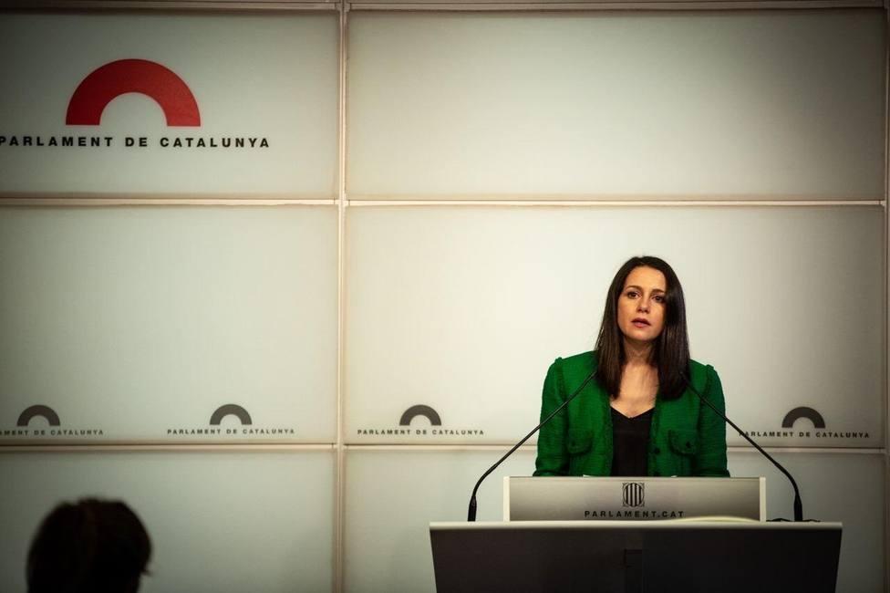 Arrimadas insiste en cambiar la forma de elección del Consejo General del Poder Judicial
