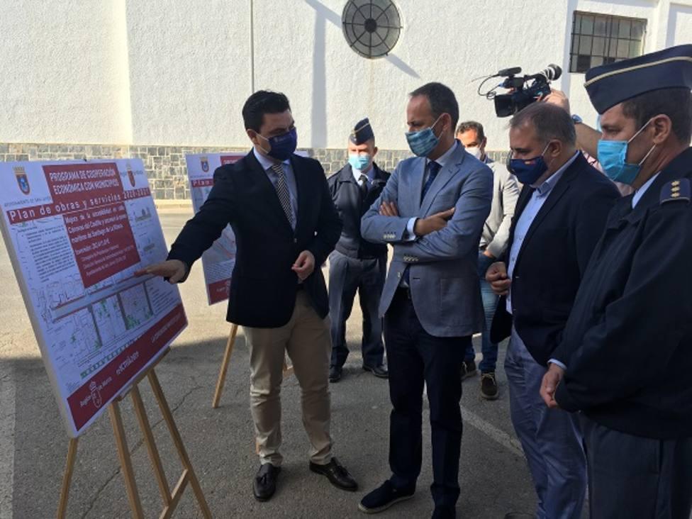 La Comunidad y el Ayuntamiento de San Javier destinan casi 600.000 euros a obras de mejora en La Ribera