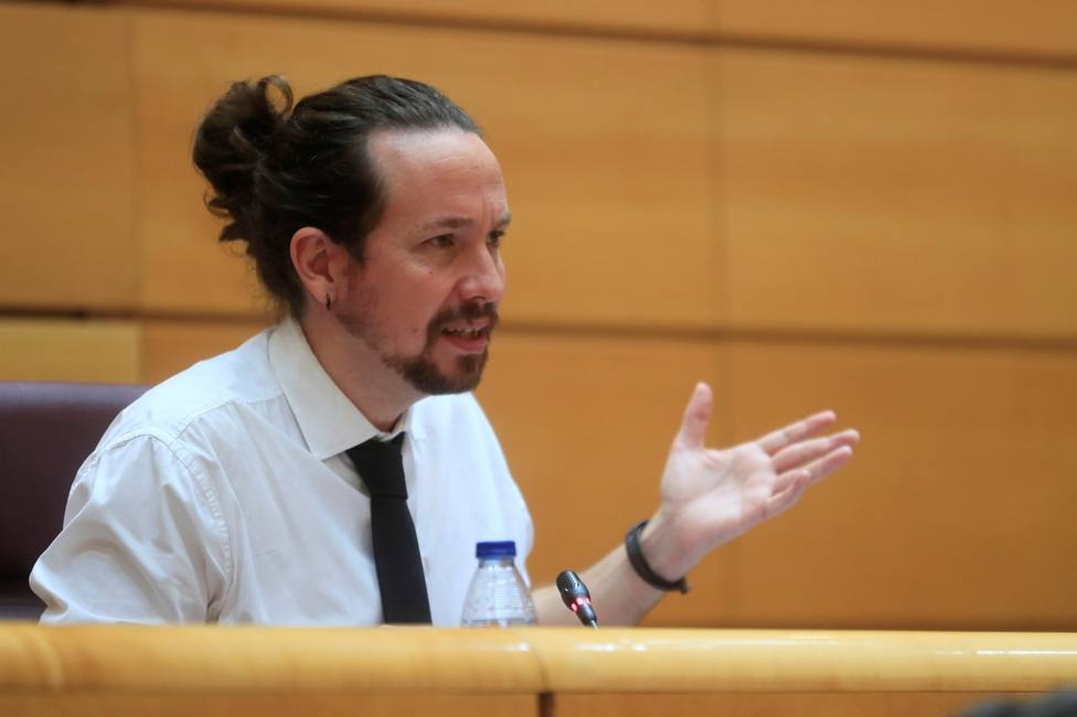 Pablo Iglesias at the Upper House